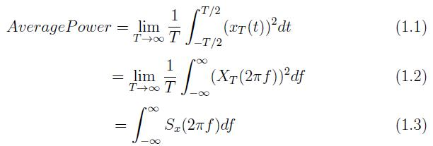 Equation for AutoCorrelation