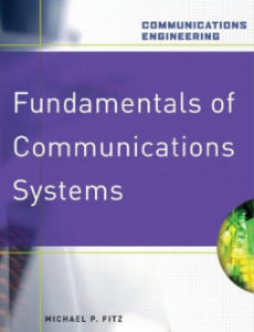 fundamentals of communication systems Michael Fitz