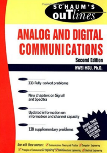 schaums outline analog digital communications
