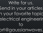 Invitation to Submit your work for publication at gaussianwaves.com